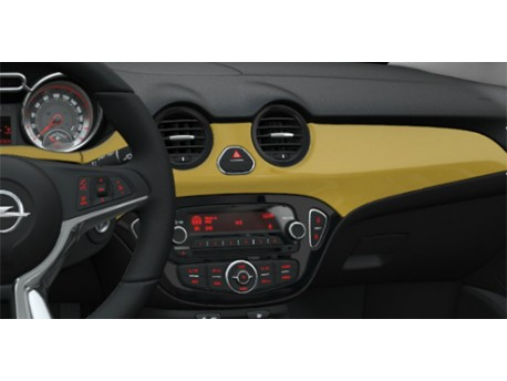 Décors peints, Jaune ''James Blonde'' Opel ADAM