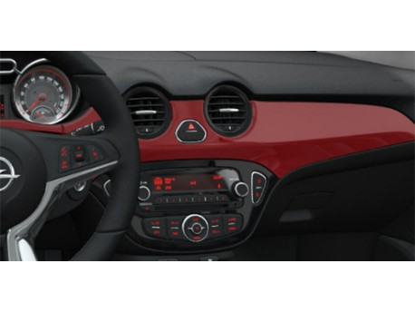 Décors peints, Rouge ''Red 'n' Roll'' Opel ADAM