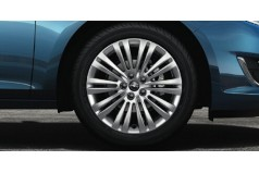 "Jante alliage 17"" - 10 branches doubles Opel Astra"