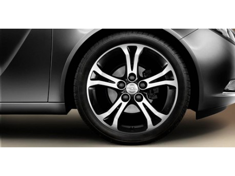 Jante alliage 18'' - 5 branches doubles - Anthracite Opel Insignia